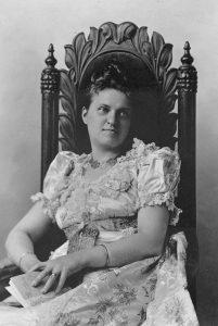 Anna Katherine Green, US-amerikanische Schriftstellerin. Gemeinfrei