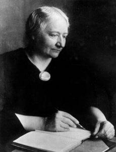 Ellen Key. Fotografie um 1905. Gemeinfrei.