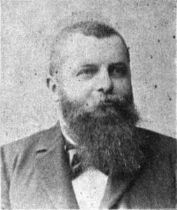 Gustav Groß. Österreichischer Politiker. Fotografie um 1907. Gemeinfrei.