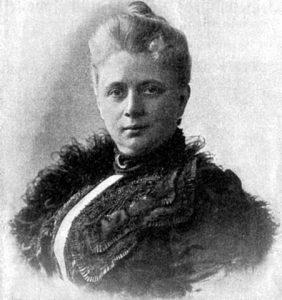 Wilhelmine Heimburg. Deutsche Schriftstellerin. Fotografie um 1890. Gemeinfrei