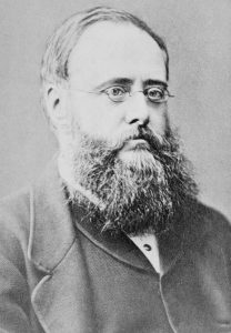 Wilkie Collins. Englischer Schriftsteller. Fotografie um 1870. Gemeinfrei.
