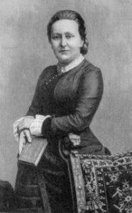 Elisabeth Bürstenbinder, deutsche Schriftstellerin. Gemeinfrei.