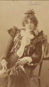 Elsa Asenijeff, österreichische Schriftstellerin. Gemeinfrei.