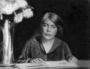 Grazia Deledda, italienische Schriftstellerin. Gemeinfrei