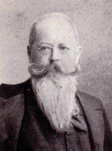 Hans von Hopfen. Deutscher Schriftsteller. Gemeinfrei.