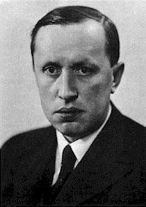 Karel Čapek , tschechischer Schriftsteller. Gemeinfrei.