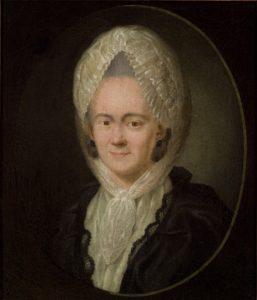 Sophie von La Roche, deutsche Schriftstellerin. Gemeinfrei.