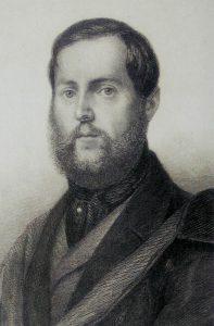 Levin Schücking. Deutscher Schriftsteller und Journalist. Gemeinfrei.