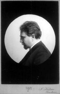 Otto Erich Hartleben, deutscher Schriftsteller. Gemeinfrei.