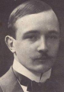 Robert Musil, österreichischer Schriftsteller. Gemeinfrei.