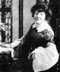 Ilse Frapan, deutsche Schriftstellerin. Gemeinfrei.
