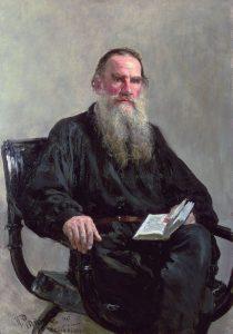 Lew Tolstoi, russischer Schriftsteller. Gemeinfrei.