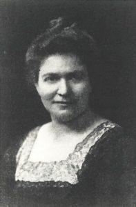 Grete Auer. Schweizerisch-österreichische Schriftstellerin. Gemeinfrei.